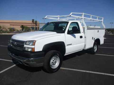 2005 Chevrolet Silverado 2500HD for sale at Corporate Auto Wholesale in Phoenix AZ