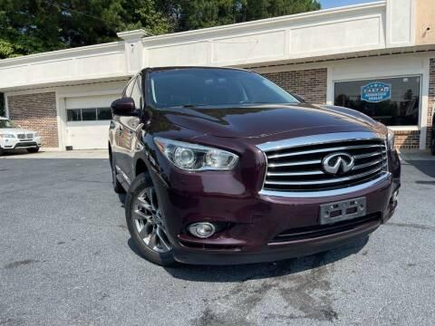 2013 Infiniti JX35 for sale at North Georgia Auto Brokers in Snellville GA