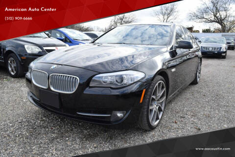2013 BMW 5 Series for sale at American Auto Center in Austin TX