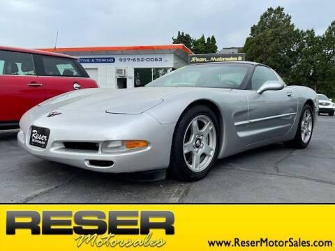 1998 Chevrolet Corvette for sale at Reser Motorsales in Urbana OH
