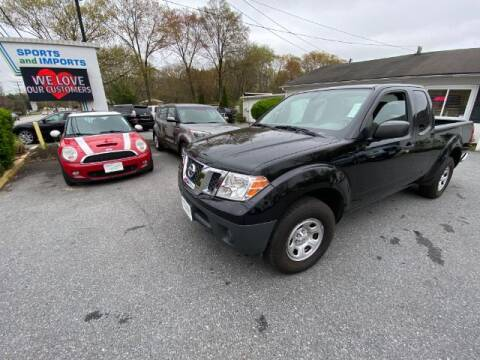2016 Nissan Frontier for sale at Sports & Imports in Pasadena MD