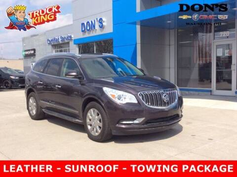 2015 Buick Enclave for sale at DON'S CHEVY, BUICK-GMC & CADILLAC in Wauseon OH