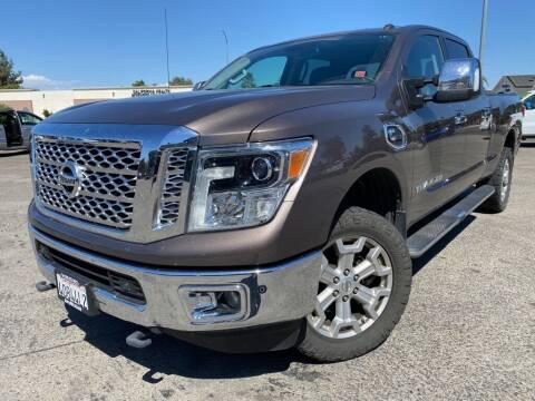 2017 Nissan Titan XD for sale at Auto Mercado in Clovis CA
