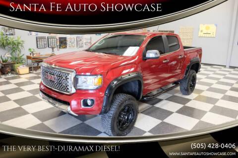 2018 GMC Canyon for sale at Santa Fe Auto Showcase in Santa Fe NM