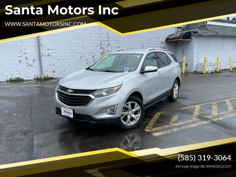 2019 Chevrolet Equinox for sale at Santa Motors Inc in Rochester NY