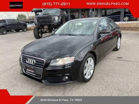 2011 Audi A4 for sale at SOUTHWEST AUTO GROUP-EL PASO in El Paso TX
