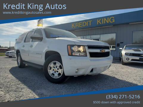 2011 Chevrolet Suburban for sale at Kredit King Autos in Montgomery AL