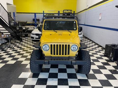 2004 Jeep Wrangler for sale at Euro Auto Sport in Chantilly VA