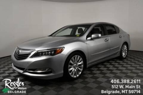 2014 Acura RLX for sale at Danhof Motors in Manhattan MT