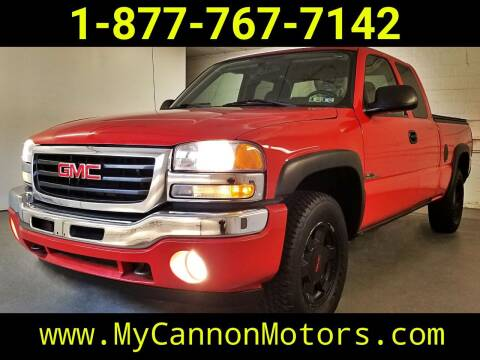 2007 GMC Sierra 1500 Classic for sale at Cannon Motors in Silverdale PA