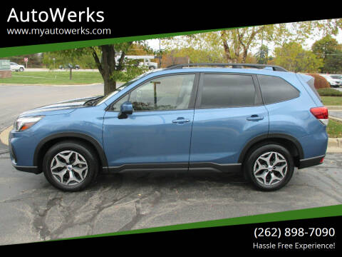2019 Subaru Forester for sale at AutoWerks in Sturtevant WI