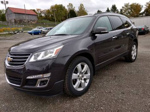 2017 Chevrolet Traverse for sale at G & H Automotive in Mount Pleasant PA
