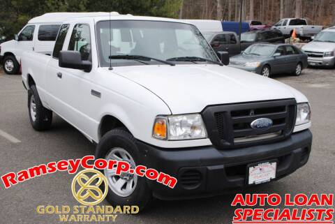 2008 Ford Ranger for sale at Ramsey Corp. in West Milford NJ
