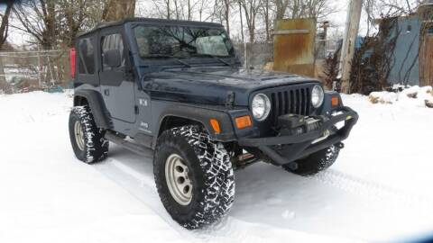 2006 Jeep Wrangler for sale at Wheels Auto Sales in Bloomington IN