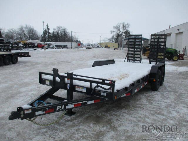2021 PJ Trailer CC Equipment CCJ2072BSDK for sale at Rondo Truck & Trailer in Sycamore IL