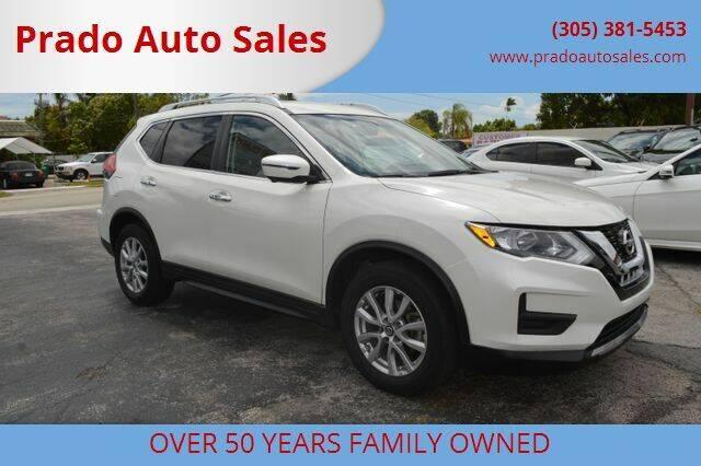 2017 Nissan Rogue for sale at Prado Auto Sales in Miami FL