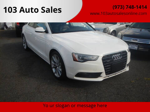 2014 Audi A5 for sale at 103 Auto Sales in Bloomfield NJ