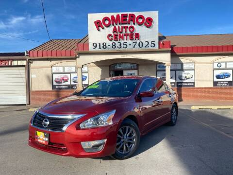 2015 Nissan Altima for sale at Romeros Auto Center in Tulsa OK