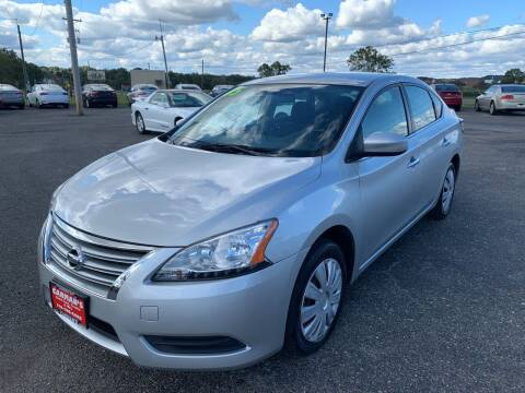 2015 Nissan Sentra for sale at Carmans Used Cars & Trucks in Jackson OH
