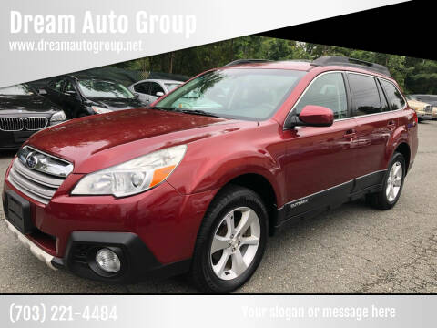 2014 Subaru Outback for sale at Dream Auto Group in Dumfries VA