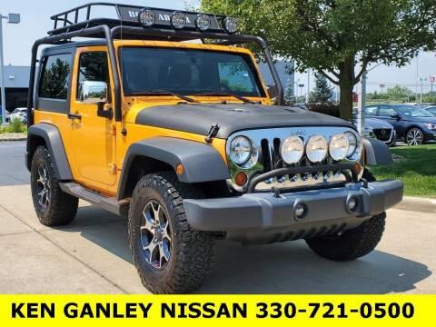 2012 Jeep Wrangler for sale at Ken Ganley Nissan in Medina OH