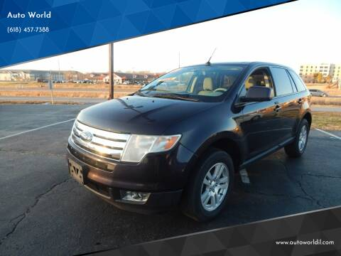 2007 Ford Edge for sale at Auto World in Carbondale IL