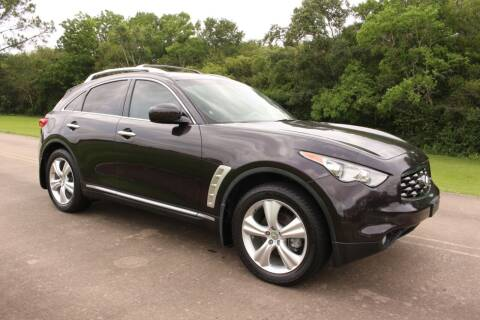 2010 Infiniti FX35 for sale at Clear Lake Auto World in League City TX