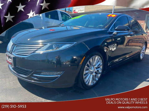2014 Lincoln MKZ for sale at Valpo Motors Inc. in Valparaiso IN