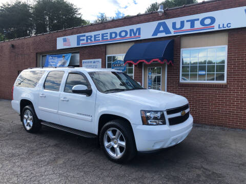 2008 Chevrolet Suburban for sale at FREEDOM AUTO LLC in Wilkesboro NC