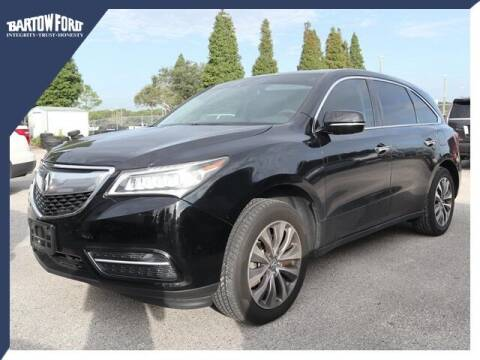 2015 Acura MDX for sale at BARTOW FORD CO. in Bartow FL