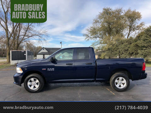 2017 RAM Ram Pickup 1500 for sale at BRADBURY AUTO SALES in Gibson City IL