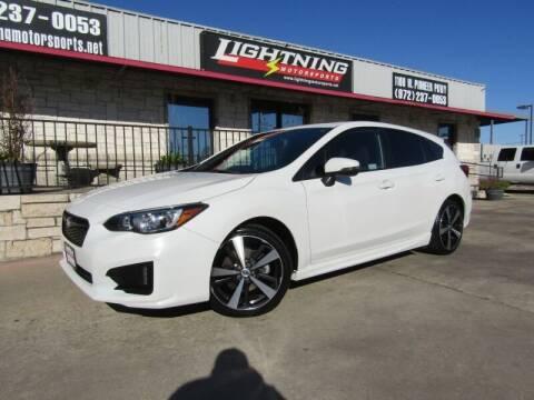 2018 Subaru Impreza for sale at Lightning Motorsports in Grand Prairie TX