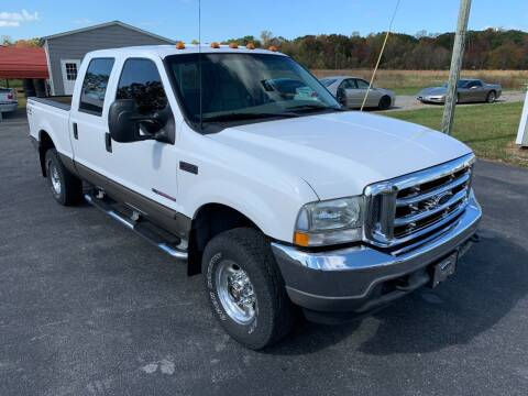 2002 Ford F-250 Super Duty for sale at Hillside Motors in Jamestown KY