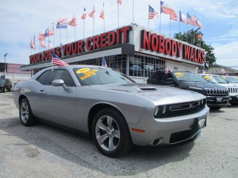 2016 Dodge Challenger for sale at Giant Auto Mart 2 in Houston TX