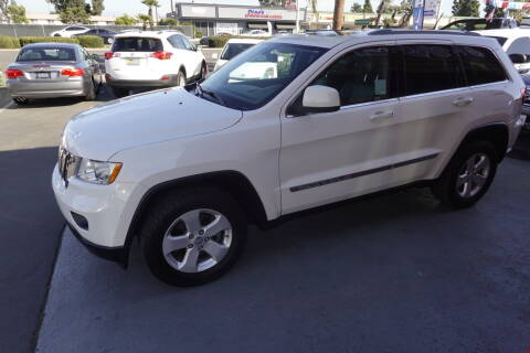 2012 Jeep Grand Cherokee for sale at CARSTER in Huntington Beach CA