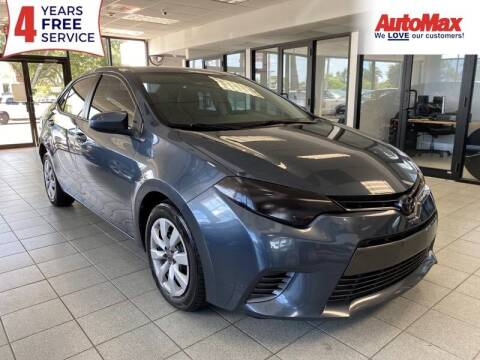 2015 Toyota Corolla for sale at Auto Max in Hollywood FL