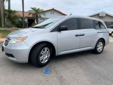 2013 Honda Odyssey for sale at CALIFORNIA AUTO GROUP in San Diego CA