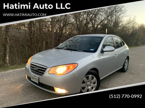 2008 Hyundai Elantra for sale at Hatimi Auto LLC in Buda TX