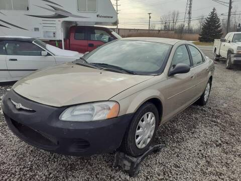 2003 Chrysler Sebring for sale at EHE Auto Sales Parts Cars in Marine City MI