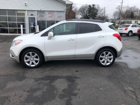 2015 Buick Encore for sale at J&J Car and Truck Sales in North Canton OH