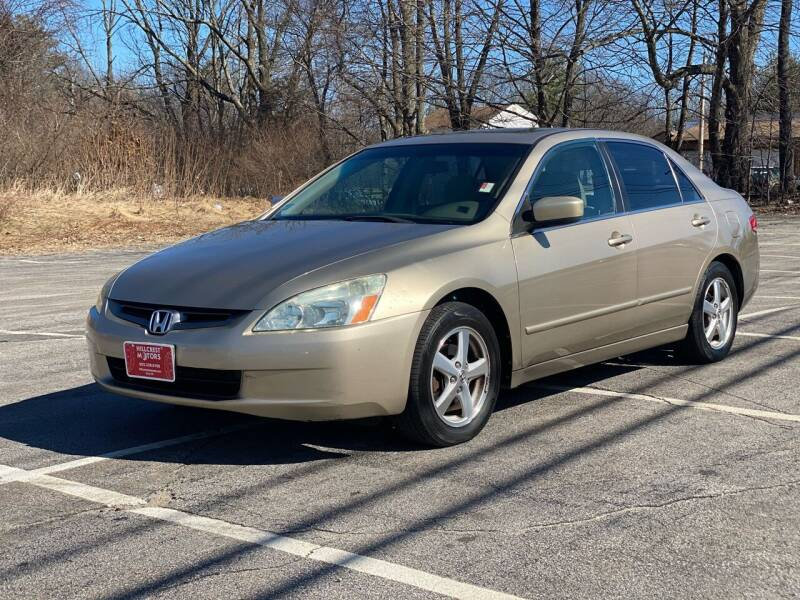 2004 Honda Accord for sale at Hillcrest Motors in Derry NH