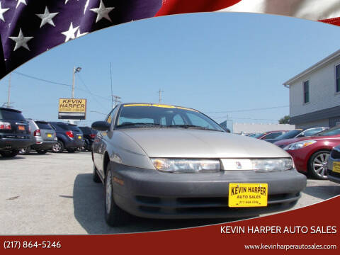 1998 Saturn S-Series for sale at Kevin Harper Auto Sales in Mount Zion IL