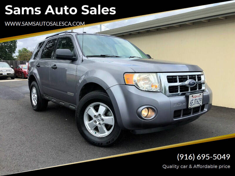2008 Ford Escape for sale at Sams Auto Sales in North Highlands CA