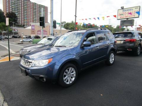 2011 Subaru Forester for sale at Daniel Auto Sales in Yonkers NY