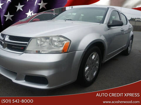 2012 Dodge Avenger for sale at Auto Credit Xpress in North Little Rock AR
