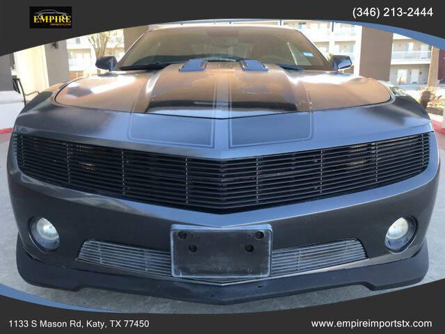 2010 Chevrolet Camaro for sale at EMPIREIMPORTSTX.COM in Katy TX