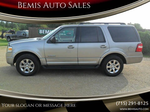 2008 Ford Expedition for sale at Bemis Auto Sales in Crivitz WI