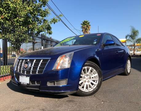 2012 Cadillac CTS for sale at LUGO AUTO GROUP in Sacramento CA