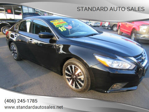 2018 Nissan Altima for sale at Standard Auto Sales in Billings MT