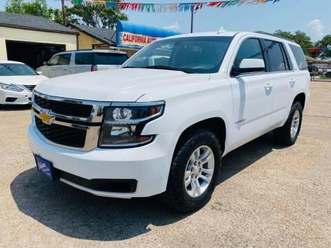 2016 Chevrolet Tahoe for sale at California Auto Sales in Amarillo TX